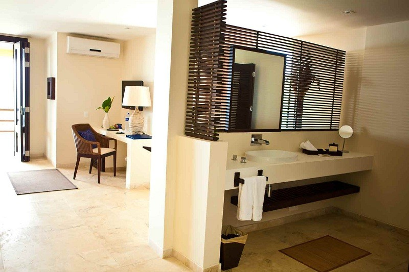 Luxurious accommodation...